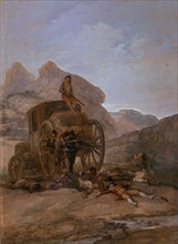Goya, Attaque d'une diligence