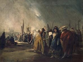 Lucas Velázquez, Procession de la Semaine Sainte