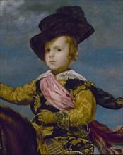 Vélasquez, Portrait équestre de Baltasar Carlos d'Espagne (détail)