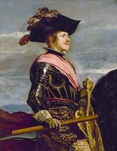Vélasquez, Portrait équestre de Philippe IV d'Espagne (détail)