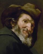 Vélasquez, Portrait de Ménippe de Sinope (détail)