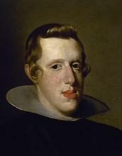 Vélasquez, Philippe IV (détail)