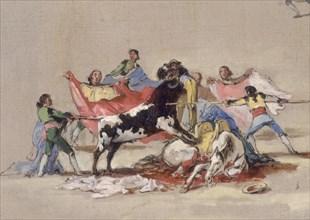 Lucas Velázquez, Corrida dans l'arène