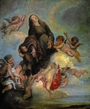 Copie de Van Dyck, Sainte Rosalie de Palerme