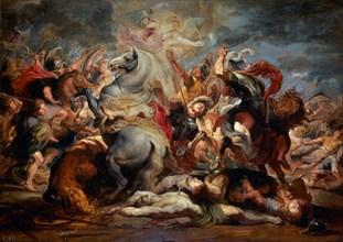 Rubens, La mort du consul Decius Mus
