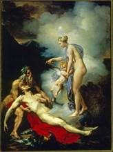 Anonyme, La guérison d'Énée grâce à Vénus
