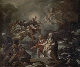 Giordano, Sainte sauvée d'un naufrage