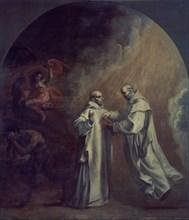 Carducho, L'apparition de Père Basile a Hugues de Lincoln