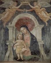 Romano, La vierge avec l'enfant