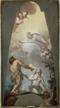 Bayeu, Reproche d'Adam et Eve pour leur péché