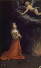 Reni, Saint Appolonie en prière