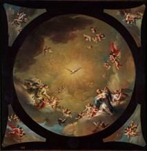 Gomez Jacinto, Les anges adorent le saint-Esprit