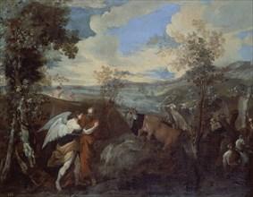 di Leone, Jacob luttant avec l'ange