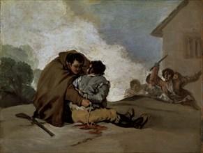 Goya, Frère Pedro de Zaldivia et le bandit Maragato
