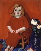 Van Dongen, Jeune fille au costume rouge
