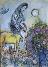 Chagall, Maternité à la chèvre d'or