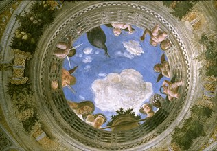Mantegna, Plafond peint