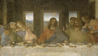 De Vinci, La Dernière Cène (détail)