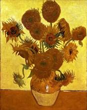 Van Gogh, Les tournesols