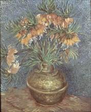 Van Gogh, Fritillaires couronne impériale dans un vase de cuivre