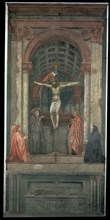 Masaccio, La Trinité