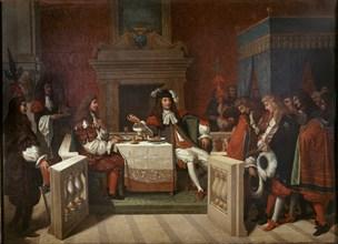 Ingres, Molière à la table de Louis XIV