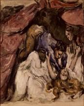 Cézanne, La femme étranglée