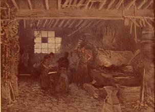 Sisley, La forge à Marly-le-Roi