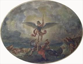 Delacroix, Saint-Michel terrassant le Dragon