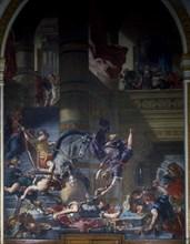 Delacroix, Heliodore chassé du Temple