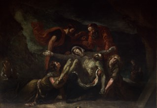 Delacroix, La pietà