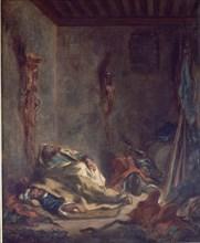 Delacroix, Corps-de-garde marocain