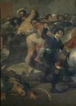 Goya, Dos de Mayo (détail)