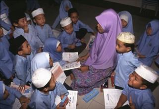 Ecole religieuse islamique à Selangor, en Malaysie