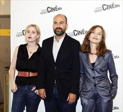 Isabelle Huppert; Lolita Chammah; Marc Fitoussi Avant première de Copacabana Festival Paris Cinéma 2010 MK2 Bibliotheque 6/07/2010 © Pierre-jean Grouille
