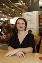 Myra Eljundir, Salon du livre de Paris 2015