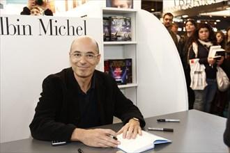 Bernard Werber, Salon du livre de Paris 2015