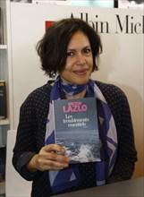 Viktor Lazlo, Salon du livre de Paris 2015