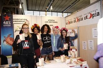 Les Femen, Salon du livre de Paris 2015
