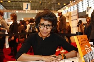 Audrey Pulvar, Salon du livre de Paris 2015