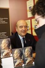Alain Juppé, Salon du livre de Paris 2015