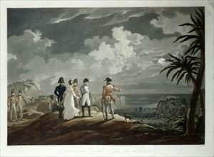 Jazet, Napoléon à Sainte-Hélène