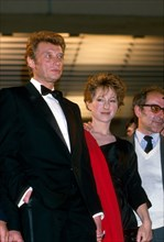 Nathalie Baye, Johnny Hallyday, Jean-luc Godard