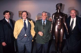 Pierre Vernier, Jean Rochefort, Jean-Paul Belmondo, Jean-Pierre Marielle