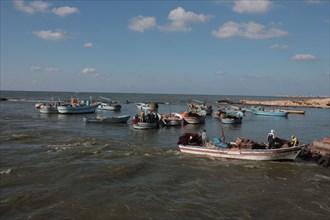 Alexandrie, les pêcheurs du delta du Nil