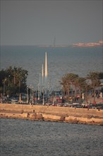 Alexandrie, le front de mer
