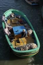 Alexandrie, pêcheurs du delta du Nil