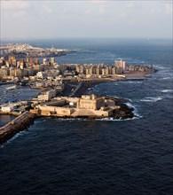 Alexandrie, le fort de Qaïtbai
