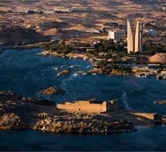 Temple de Kalabcha, vue aérienne