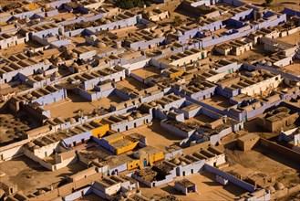 Assouan, vue aérienne